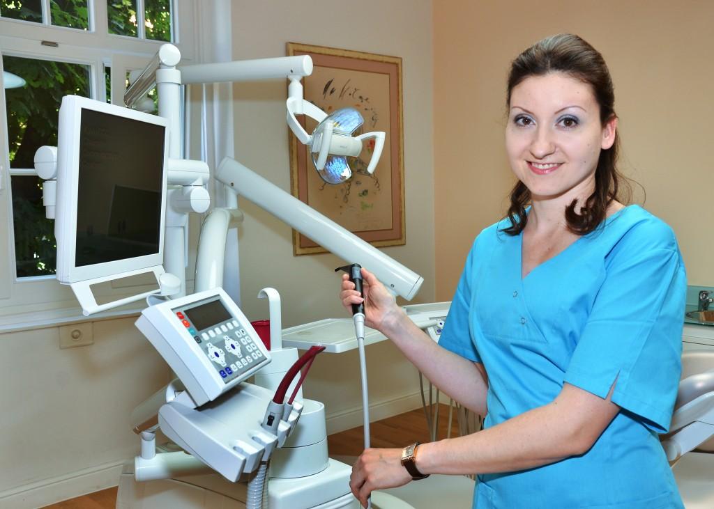 Prophylaxe in der Zahnarztpraxis Lange in München